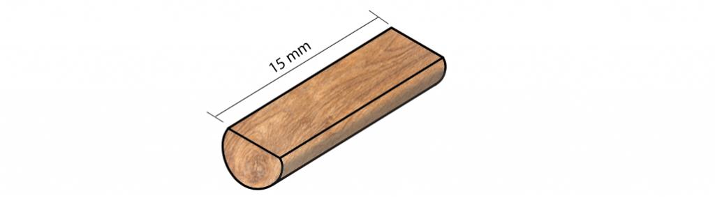 madera de 15 mm